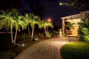Beauty and Security with Strategic Landscape Lighting in Houston Texas