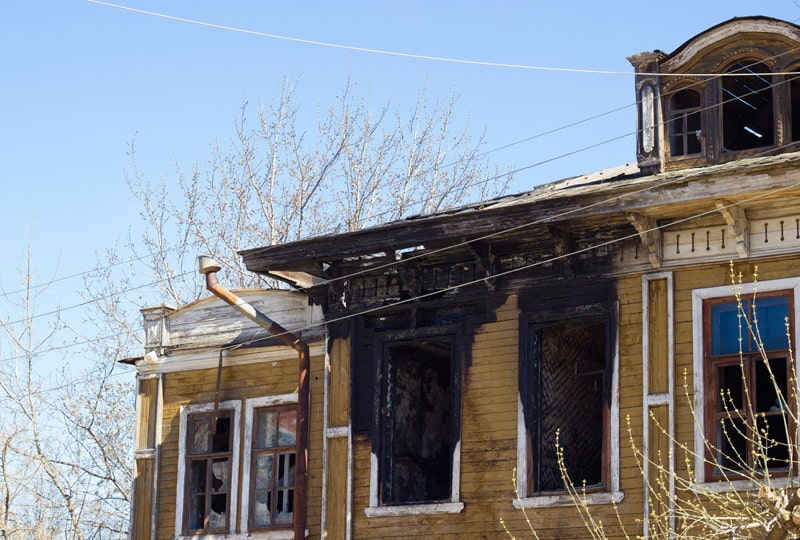 What to Know About Fire-Damaged Homes for Sale