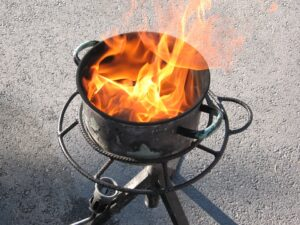 How to Properly Handle a Grease Fire